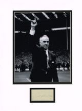 Bill Shankly Autograph Signed  - Liverpool